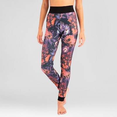 f959f04fc93a Wander® by Hottotties® Women s Printed Luxe Velvet Lined Thermal Leggings
