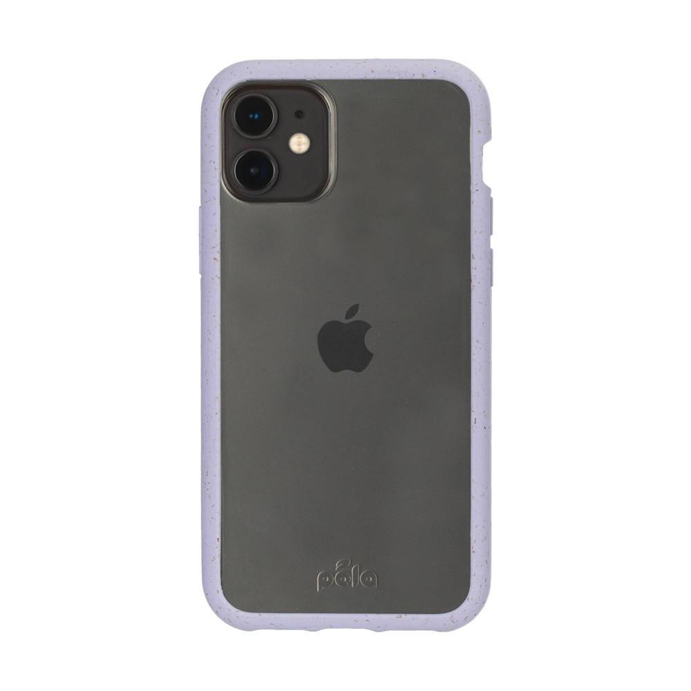Pela Apple Iphone 11 Pro Max Eco Friendly Clear Protection Ridge Case Lavender