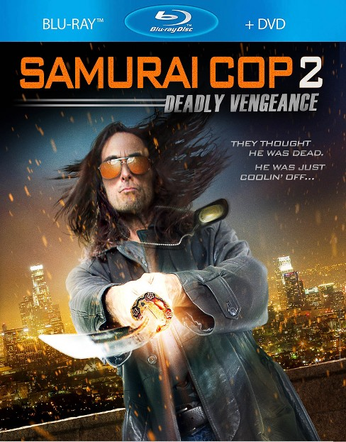 Samurai cop 2:Deadly vengeance (Blu-ray) - image 1 of 1