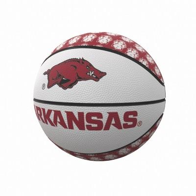 NCAA Arkansas Razorbacks Logo Brands Mini-Size Rubber Basketball
