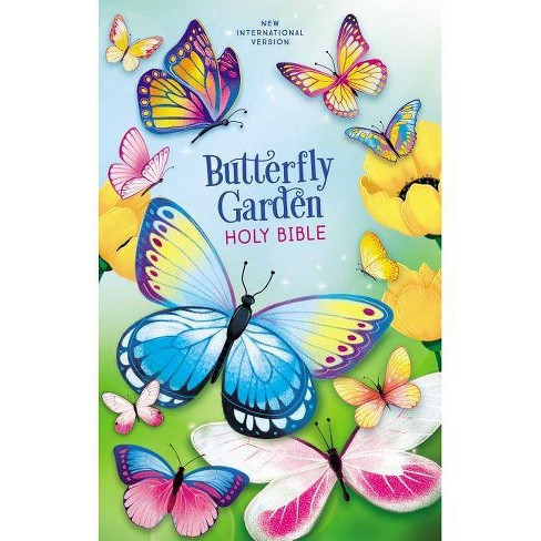 Niv, Butterfly Garden Holy Bible, Hardcover, Comfort Print - by  Zondervan - image 1 of 1
