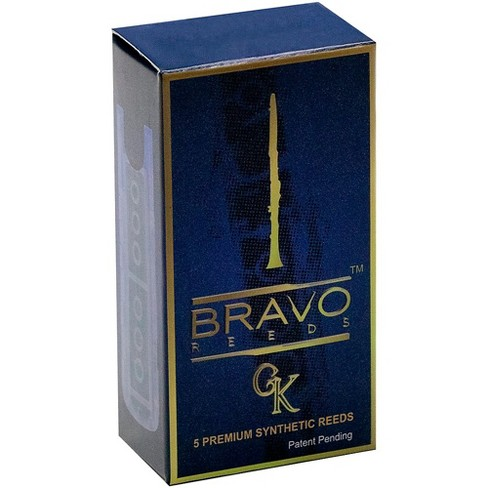 Bravo Reeds Synthetic Clarinet Reed 5 Pack - image 1 of 1
