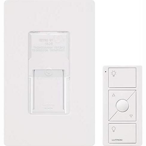 Lutron, White Caseta Wireless Pico Wall-Mounting Kit | PJ2-WALL-WH-L01 | White. - image 1 of 4