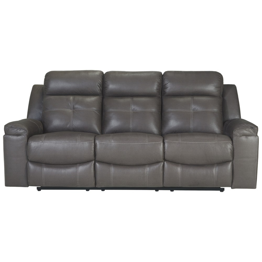 Jesolo Reclining Sofa Gray Heather - Signature Design by Ashley