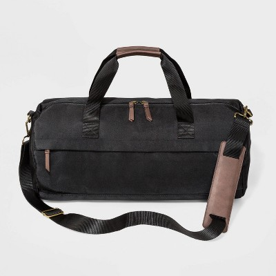 Men's Carry On Duffel Weekender Bag - Goodfellow & Co™ Black