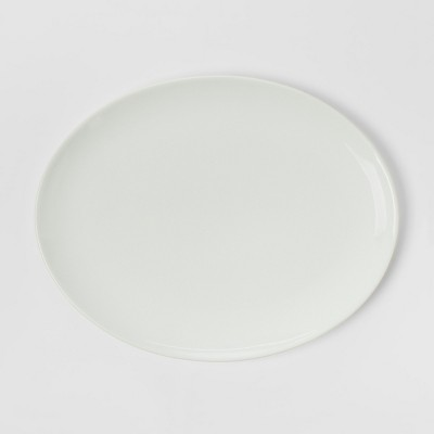 Oval Porcelain Serving Platter 15.5'' White - Threshold™