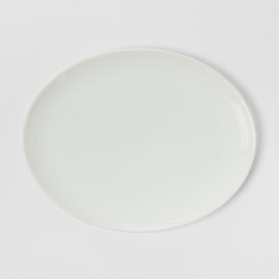 Oval Porcelain Serving Platter 15.5'' White - Threshold™