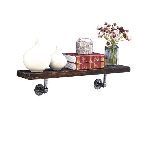Industrial Wall Shelf - Brown - image 1 of 6