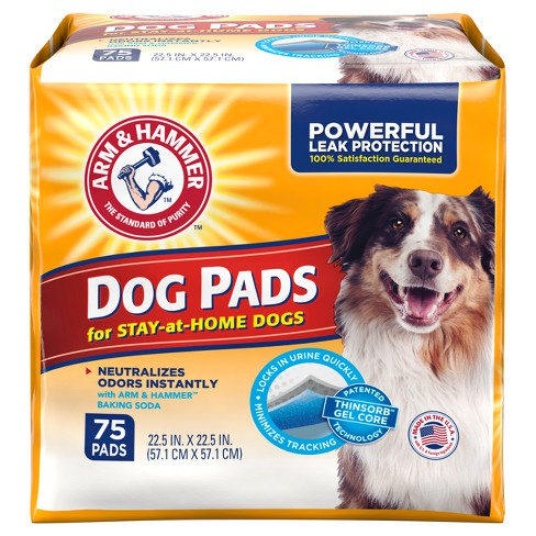 Arm & Hammer Absorbent Dog Pads and Puppy Training Pads - image 1 of 3