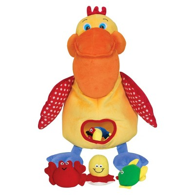 Melissa & Doug® K's Kids Hungry Pelican Soft Baby Educational Toy