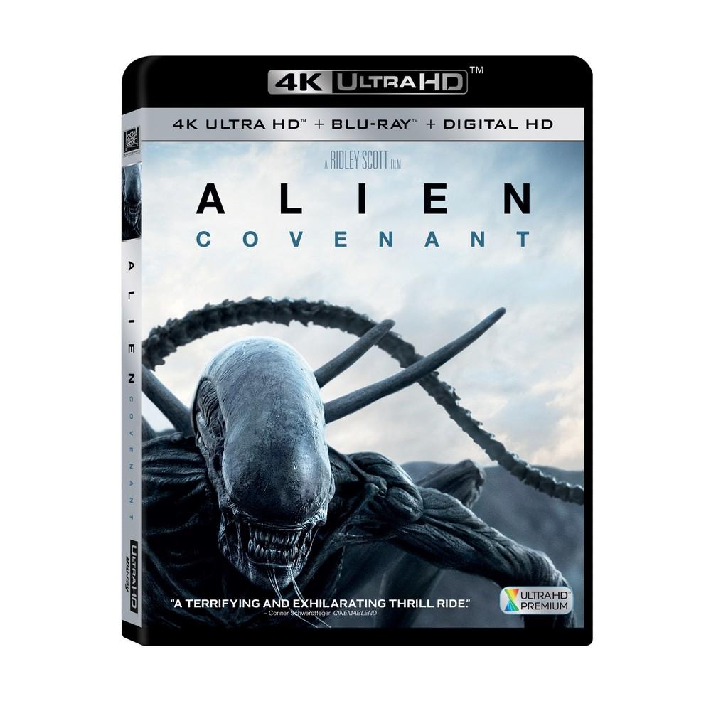 Alien: Covenant (4K/UHD + Blu-ray + DVD + Digital) was $24.99 now $15.0 (40.0% off)