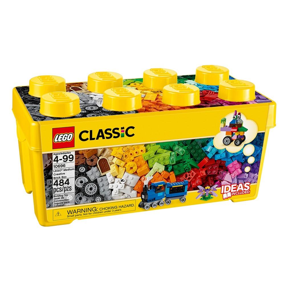 LEGO Classic Medium Creative Brick Box 10696 Building Toys for Creative Play,...