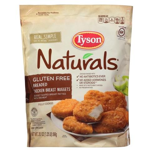 Tyson Gluten Free Frozen Chicken