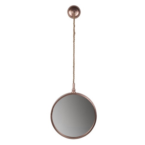 Medium Roselle Wall Mirror Rose Gold - A&B Home - image 1 of 1