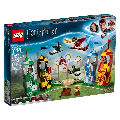 lego harry potter quidditch match 75956 target