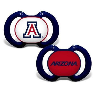 NCAA Baby Fanatic 2pk Pacifier Arizona Wildcats
