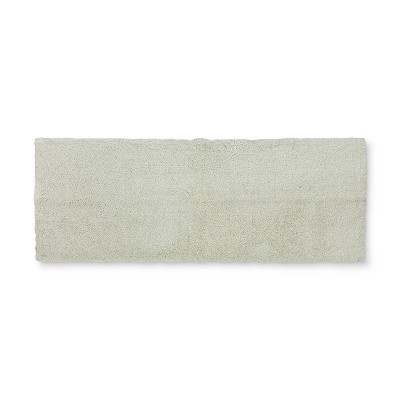 60 x22  Tufted Spa Bath Runner Mint - Fieldcrest®