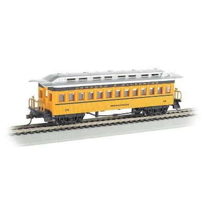 Bachmann Trains 13408 Durango & Silverton Coach 257 Shenandoah 1860-80 HO Scale 1:87 Metal Wheels Model Train w/ E-Z Mate Couplers & Authentic Detail