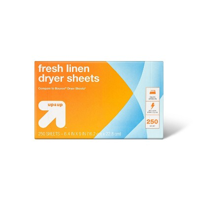 Dryer Sheets Fresh Linen - 250ct - up & up™