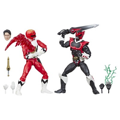 Power Rangers Lightning Collection In Space Psycho Red Ranger and Lost Galaxy Red Ranger Collectible Action Figures