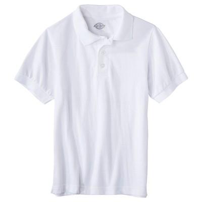 Dickies Little Boys' Pique Uniform Polo Shirt