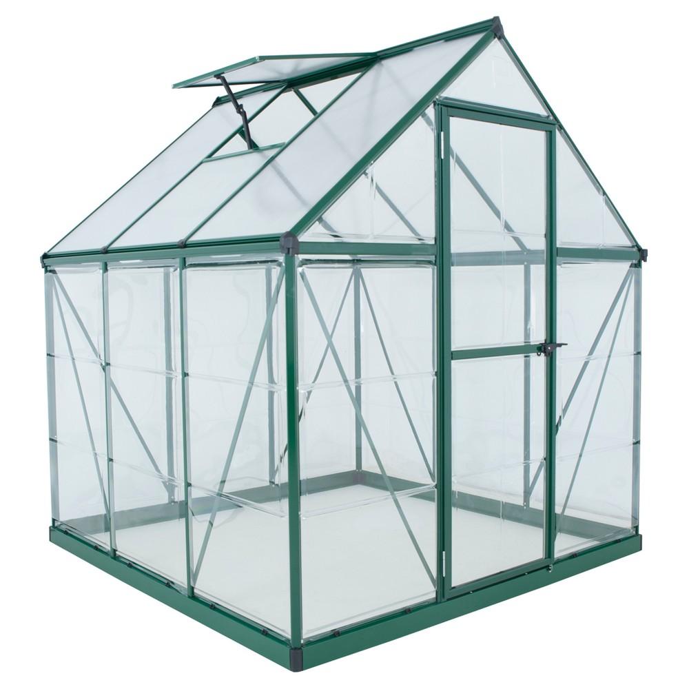 82 Hybrid Greenhouse Green - Palram