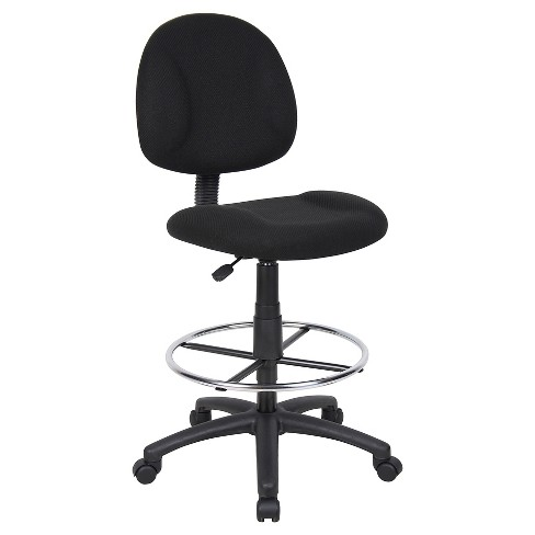 Drafting Stool with Footring Black - Boss Office Products - image 1 of 6
