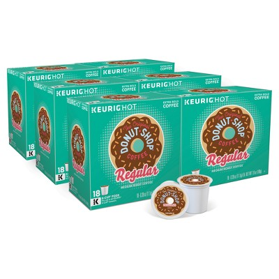 The Original Donut Shop Regular Medium Roast Coffee - Keurig K-Cup Pods - 108ct