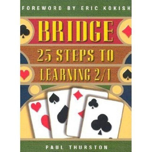 25 Steps to Learning 2/1 - (Bridge (Master Point Press)) by  Paul Thurston (Paperback) - image 1 of 1