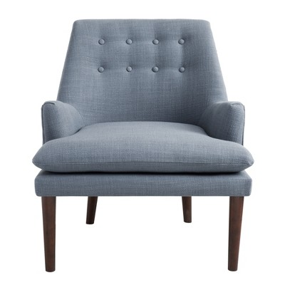 Upholstered Tufted Club Chair