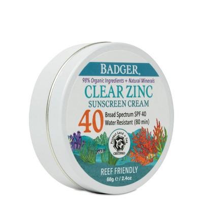 Badger Sport Mineral Sunscreen in a Tin - SPF 40 - 2.4 fl oz