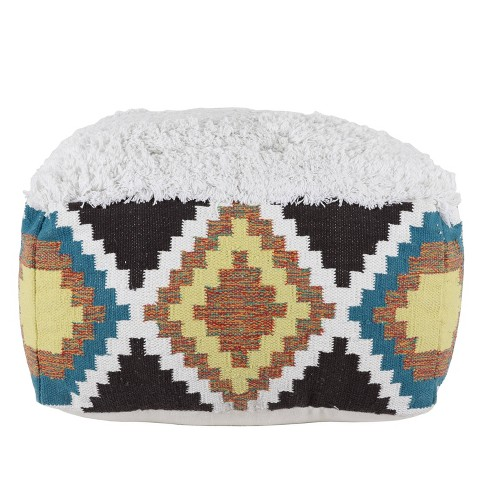 Southwest Square Pouf - Dcor Therapy - image 1 of 4
