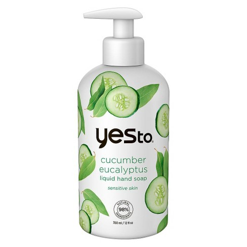 Yes to® Cucumbers Eucalyptus Liquid Hand Soap - 12oz - image 1 of 1
