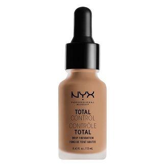 NYX Professional Makeup Total Control Drop Foundation Classic Tan - 0.43 fl oz