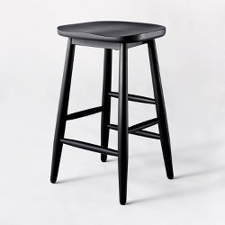 Haddonfield All Wood Backless Counter Stool - Threshold™ designed with Studio McGee