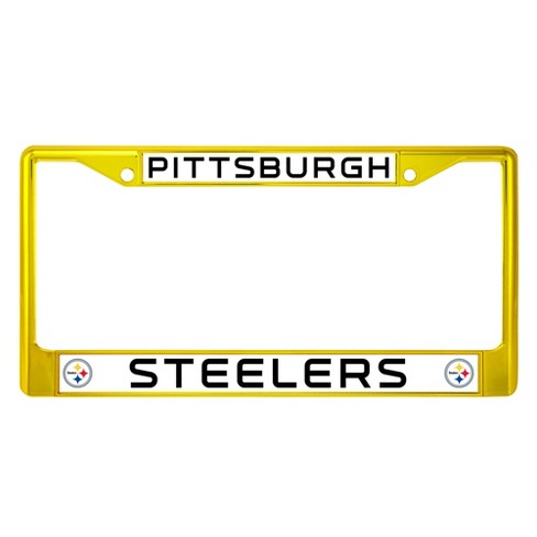 NFL Pittsburgh Steelers License Plate Frame : Target