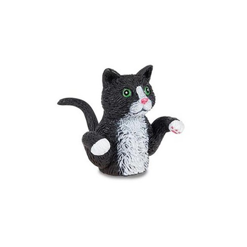 Finger Cats Finger Puppet, One Black Cat - image 1 of 1
