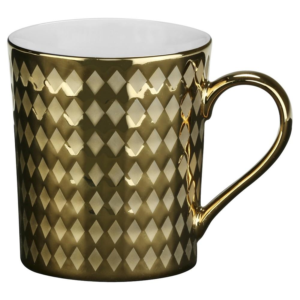 Image of 10 Strawberry Street 12oz Cairo Gold Mug - Set of 6