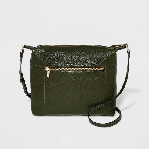 35f10995452f4 Soft Crossbody Bag - A New Day™ Olive   Target