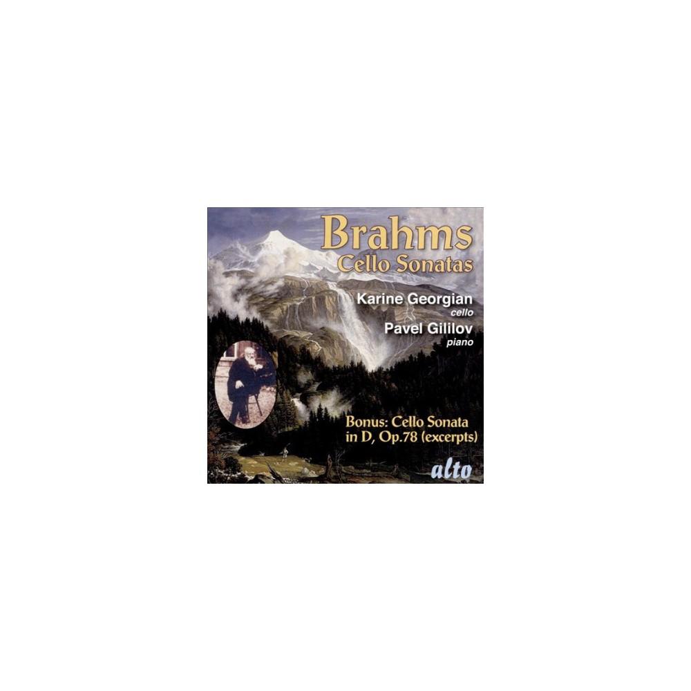 Karine Georgian - Brahms:Cello Sonatas (CD)