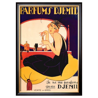 Art.com - Parfums Djemil - Framed Print