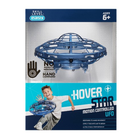 The Original Hover Star Motion Controlled UFO- Blue - image 1 of 4