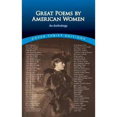 Great Poems by American Women - (Dover Thrift Editions) by  Susan L Rattiner (Paperback)