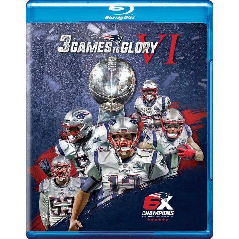 3 Games To Glory Vi: New England Patriots (Blu-ray) - image 1 of 1