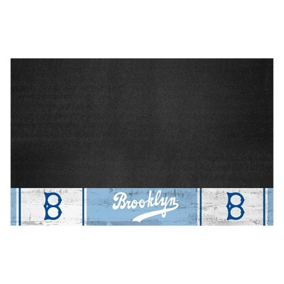 """MLB Los Angeles Dodgers 1944 Retro Collection 26""""x42"""" Grill Mat"""