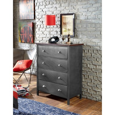 Urban Quarters Chest Steel Black - Hillsdale Furniture