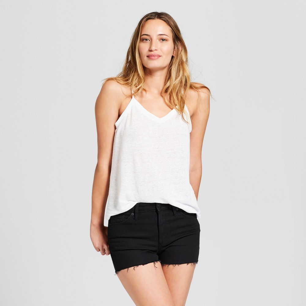 Women's High-Rise Jean Shorts - Universal Thread Black 16