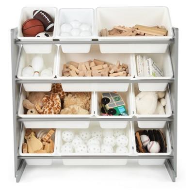 Tot Tutors Inspire Toy Organizer White/Gray