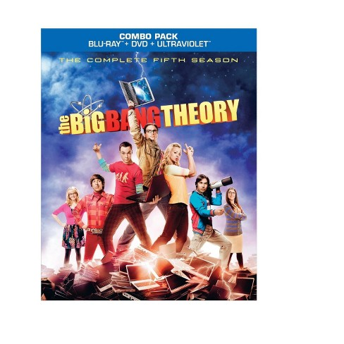 The Big Bang Theory: The Complete Fifth Season [5 Discs] [Blu-ray] - image 1 of 1