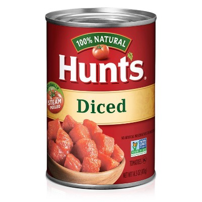Hunt's 100% Natural Diced Tomatoes - 14.5oz